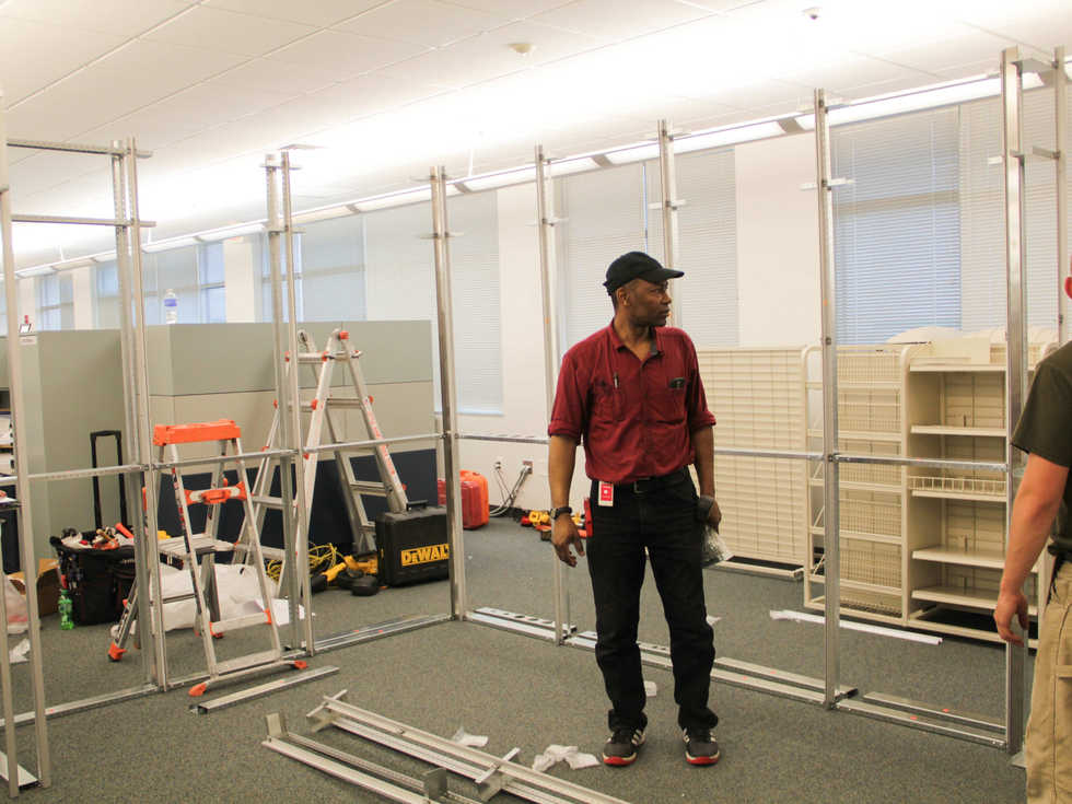 OTW modular units go up 75% faster than conventional construction