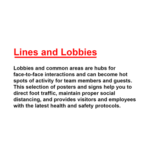 Lines And Lobbies