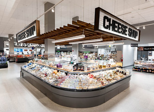 Giant Food Store in Falls Church, VA Completed by Off The Wall Co.