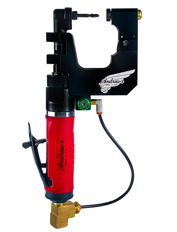 Right Angle Power Feed Drill Motor