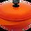 Thumbnail: 饗宴系列28cm媽媽鍋-活力橘【MULTEE摩堤鑄鐵鍋-饗宴系列】