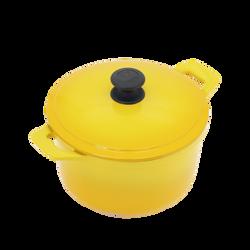 22cm圓鍋-黃