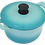 Thumbnail: 20cm A5 鑄鐵鍋(圓鍋)/2.7L_綠松色【MULTEE摩堤_鑄鐵鍋系列】