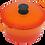 Thumbnail: 20cm A5 鑄鐵鍋(圓鍋)/2.7L_活力橘【MULTEE摩堤_鑄鐵鍋系列】