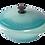 Thumbnail: 饗宴系列28cm媽媽鍋-松綠色【MULTEE摩堤鑄鐵鍋-饗宴系列】
