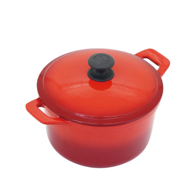 22cm圓鍋-紅