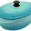 Thumbnail: 饗宴系列32cm橢圓鍋-綠松色【MULTEE摩堤鑄鐵鍋_饗宴系列】