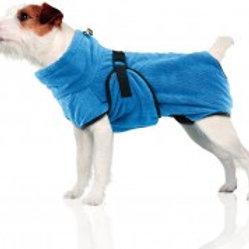 swisspet Wety Hundebademantel S blau