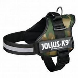 Trixie Julius-K9 Powergeschirr Gr. 2/L-XL: 71-96 cm, camouflage