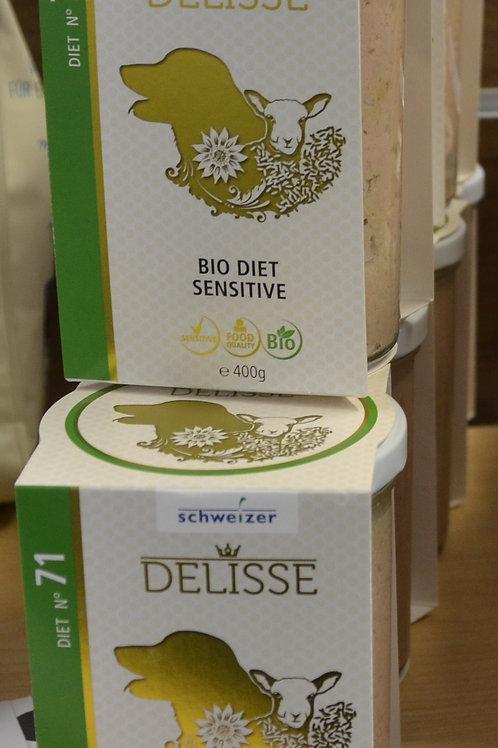 DELISSE Diät Alleinfuttermittel: Sensitive 400 GR N 70