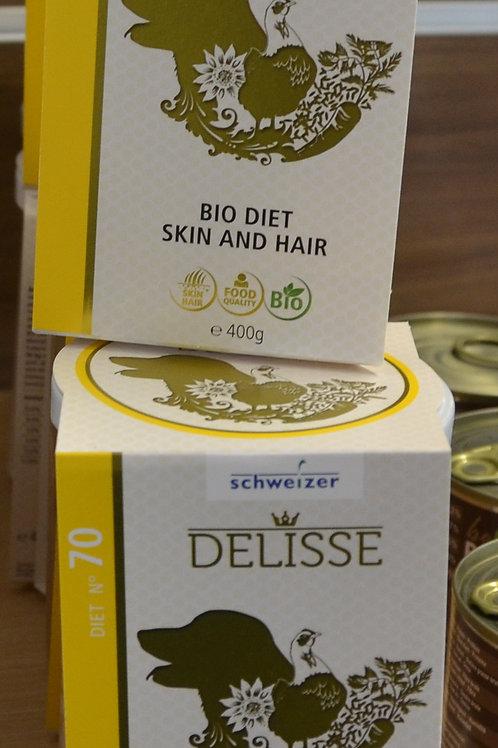 DELISSE Diät Alleinfuttermittel: Skin and Hair  400 GR N 70