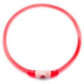 Nightlight USB Leuchthalsband rot (40-70cm)