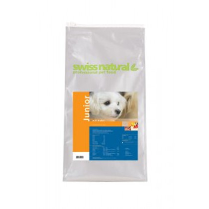 4 kg SwissNatural Juniormit Huhn und Reisfür Junghunde im Alter von 4-12 Monat