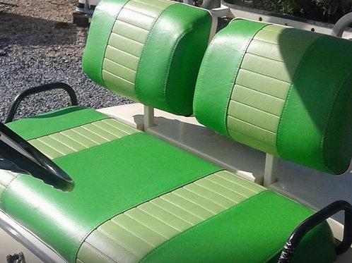 Club Car Pre 2000 Front Seat/Rear Seat Combo (2 Stripe)