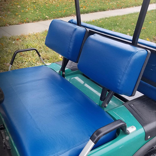 Solid Color Front Seat / Rear Seat Cover Combo