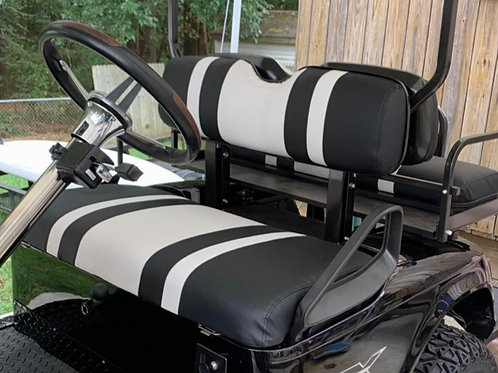 Front Seat / Rear Seat Cover Combos (3 Stripe)