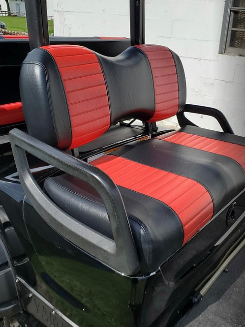 Yamaha Drive/G-29 Front Seat/Rear Seat Combo (2 Stripe)