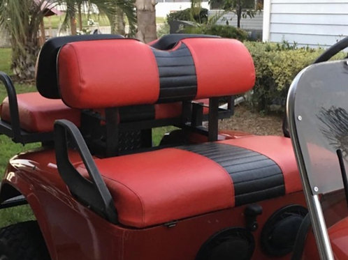 Golf Cart Seat Covers-Front Seat (1 Stripe)