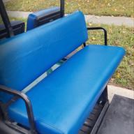 Rear Seat - Blue