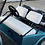 Thumbnail: Club Car Pre 2000 Front Seat/Rear Seat Combo (Solid Color)