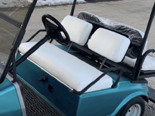 Club Car Pre 2000 Front Seat/Rear Seat Combo (Solid Color)