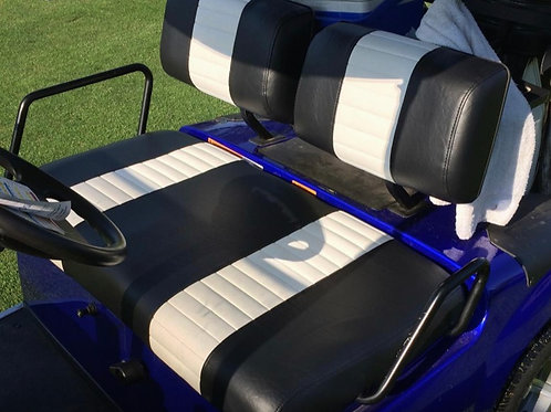 Golf Cart Set Covers-Front Seat (2 Stripe)