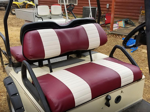 Club Car DS Front Seat/Rear Seat Combo (2 Stripe)