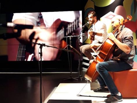 Participação do Gon no programa Fique Ligado da TV Brasil