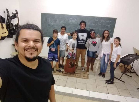 Hugo do Maçã de Cesto no Musicalidade na Gota