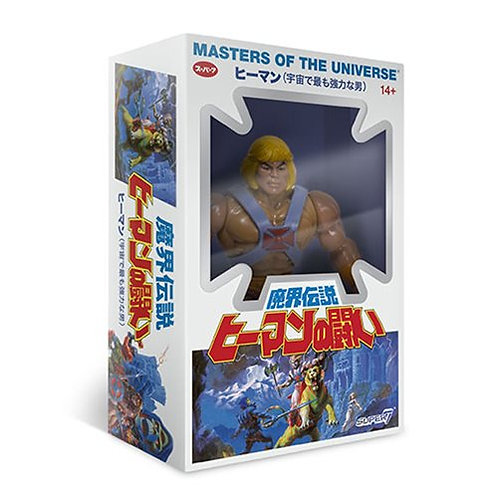 Japanese Box He-Man 5 1/2-Inch Action Figure
