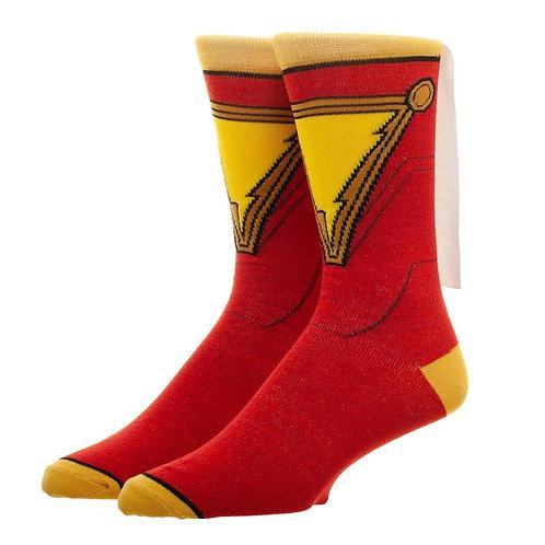 Shazam Suitup Cape Crew Sock