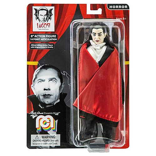 Dracula Horror Mego 8' action figure