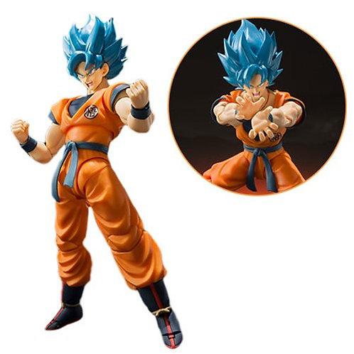 Dragon Ball Super SSGSS Goku SH Figuarts Action Figure