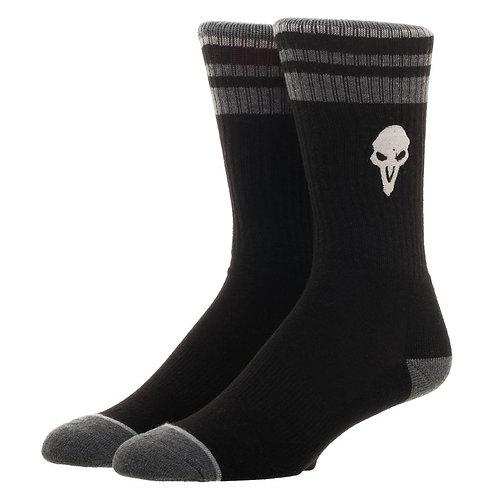 Overwatch Men's Reaper Embroidered Crew Sock