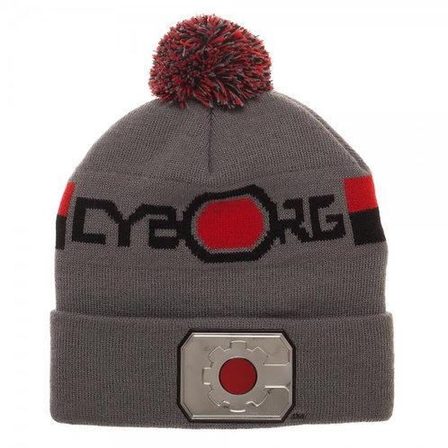 Cybrog Chrome Weld Knit Beanie