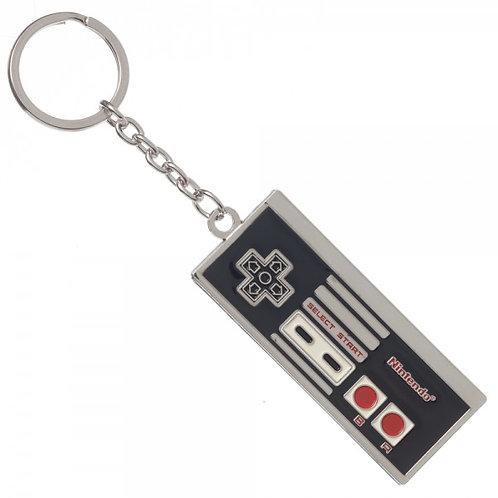 Nintendo Controller Metal Keychain