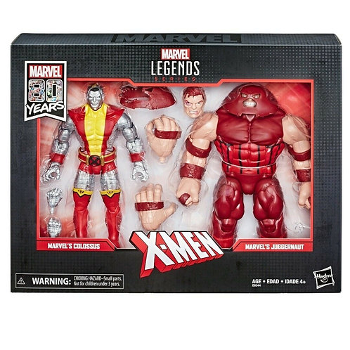 Marvel Legends Colossus and Juggernaut 6-Inch Action Figures