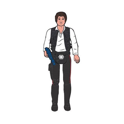 StarWars Vintage Action Figure Han solo PIN