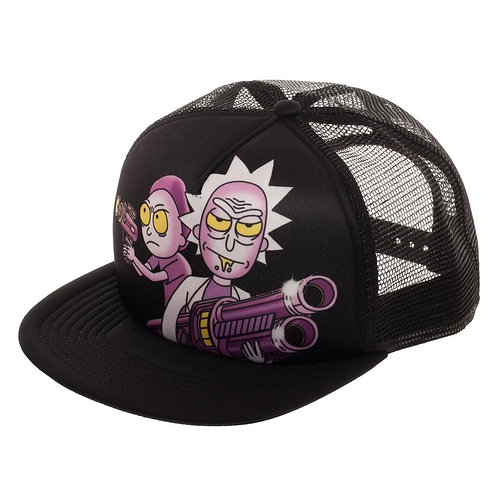 Rick and Morty Sublimated Trucker hat