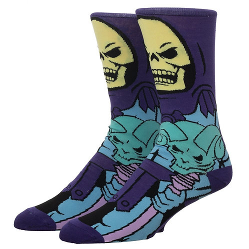 Skeletor 360 Character Crew Sock