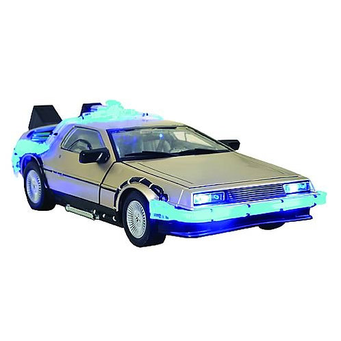 Back to the Future DeL0rean Vehicle