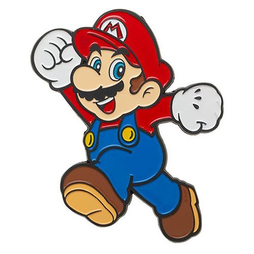 "Super Marion Bros . Mario 3"" Lapel Pin"