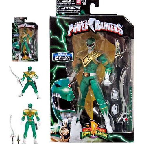 Mighty Morphin Power Rangers Legacy Collection Green Ranger Action Figure