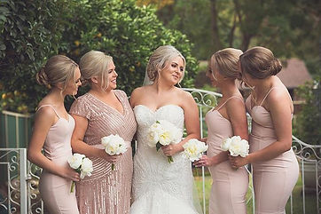 BRIDAL PARTY LOVE 💗 Makeup and Tans for