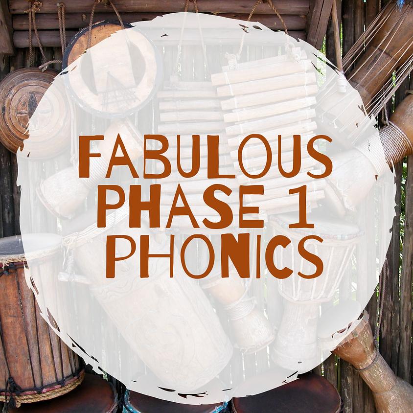 Fabulous Phase 1 phonics - Whitley Bay