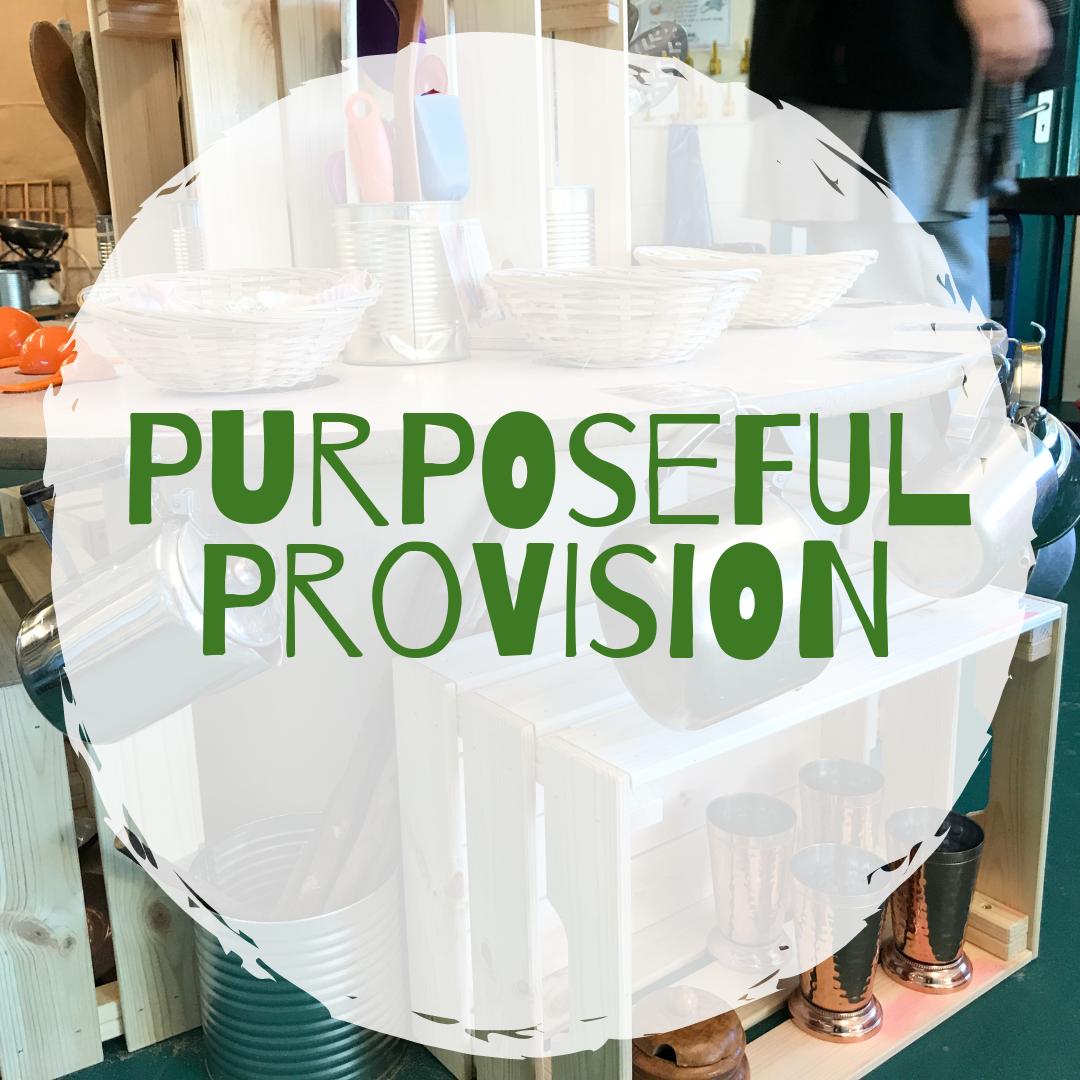 Purposeful Provision: Early Years Training - Hucknall (Nottingham)