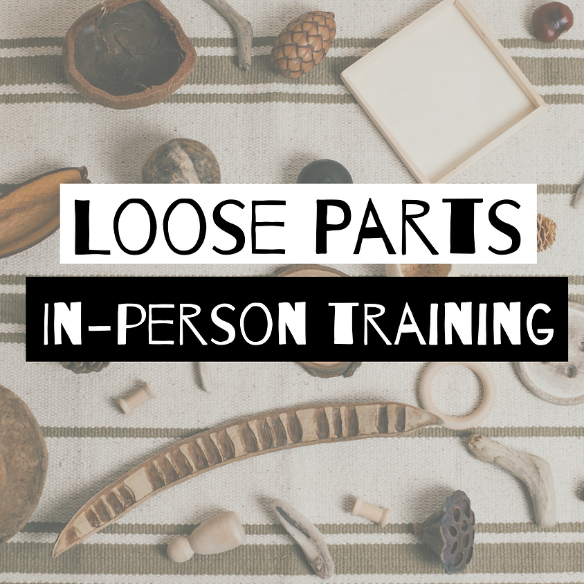 Loose Parts training: Early Years Training - Warrington