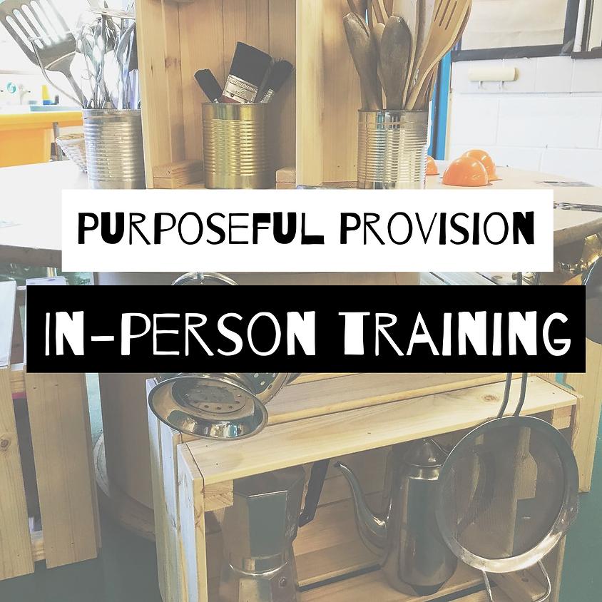 Purposeful Provision: Early Years Training - Warrington