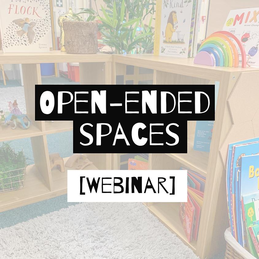 Webinar: Open-ended spaces VS. Aesthetics [Evening]