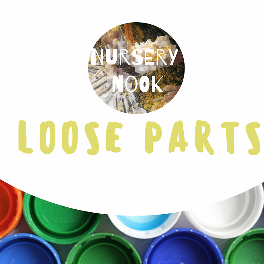 Loose parts exhibition: Early Years Training - Norbury (Derbyshire)